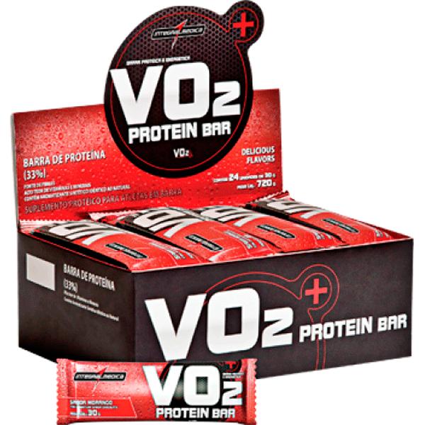 0a0875a0a VO2 Protein Bar - caixa com 24 unidades - Integralmédica - Soares ...