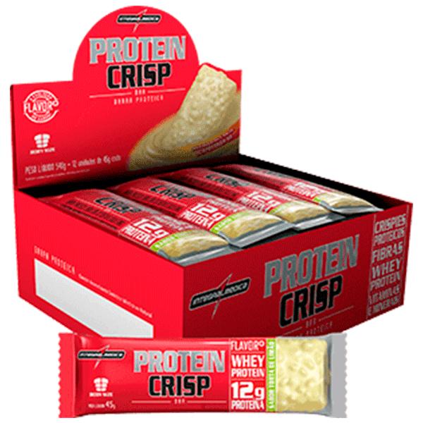 310b9eaf1 Protein crisp bar - caixa com 12 unidades - Integralmédica - Soares ...